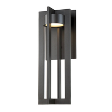 WAC US WS-W48620-BZ - CHAMBER 20IN OUTDOOR SCONCE 3000K