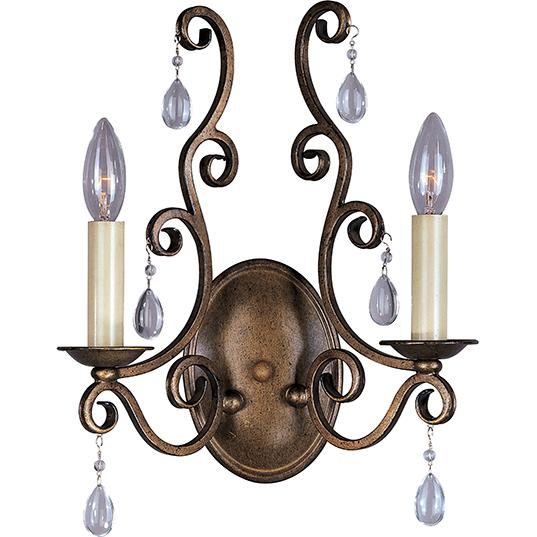 U.S. 31 Supply Inc. in South Bend, Indiana, United States,  3QXH, Hampton 2-Light Wall Sconce, Hampton