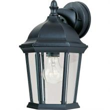 Maxim 1024BK - Builder Cast 1-Light Outdoor Wall Lantern
