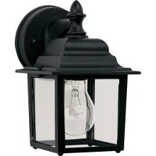 Maxim 1025BK - Builder Cast 1-Light Outdoor Wall Lantern