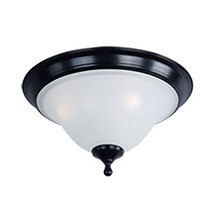 Maxim 11800ICBK - Linda 3-Light Flush Mount