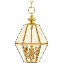 Maxim 6151CLPB - Bound Glass-Entry Foyer Pendant