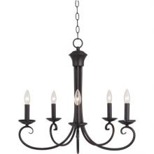 Maxim 70005OI - Loft-Single-Tier Chandelier