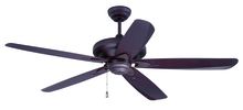 "Craftmade ZE56OBG5 - Zena 56"" Ceiling Fan with Blades in Oiled Bronze Gilded"