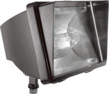 RAB Lighting FF150 - FUTURE FLOOD 150W HPS 120V NPF + LAMP BRONZE