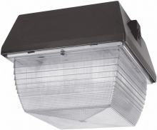 "RAB Lighting VAN3S70 - VANDALPROOF 9"" X 9"" CEILING 70W HPS 120V BRONZE"