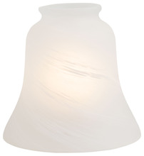 "Minka-Aire 2549 - 2 1/4"" Etched Marble Glass Shade"