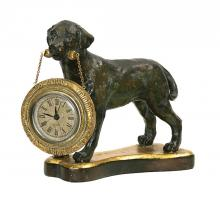 Sterling Industries 91-1647 - Labrador Retriever Desk Display Clock