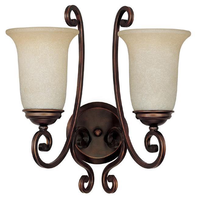 two light burnished bronze wall light lqwe u s 31 supply inc