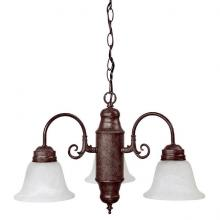 Capital 3253VB-118 - Three Light Vintage Bronze Down Chandelier