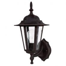 Capital 9825RU - One Light Rust Wall Lantern