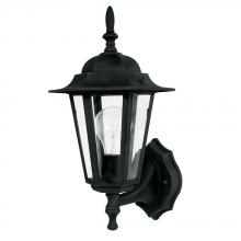Capital 9825BK - 1 Light Cast Outdoor Lantern
