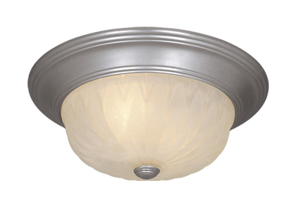 U.S. 31 Supply Inc. in South Bend, Indiana, United States,  4V80, Madrid 13 in. Flushmount Brushed Nickel, Madrid