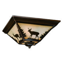 "Vaxcel International CC55414BBZ - Bryce 14"" Flush Mount"