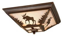 "Vaxcel International CC55614BBZ - Yellowstone 14"" Flush Mount"