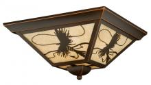 "Vaxcel International T0115 - Mayfly 14"" Outdoor Flush Mount"