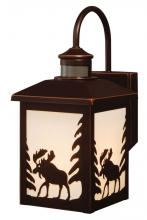 "Vaxcel International T0184 - Yellowstone Dualux� 8"" Wall Light Burnished Bronze"