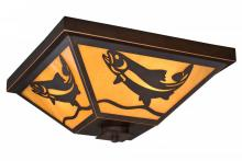 Vaxcel International T0335 - Missoula 3L Outdoor Flush Mount