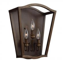 Generation Lighting - Feiss WB1757PAGB - 3 - Light Sconce