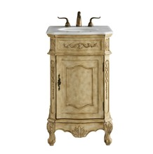 Elegant VF10121AB - 21 In. Single Bathroom Vanity Set In Antique Beige