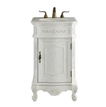 Elegant VF10121AW - 21 In. Single Bathroom Vanity Set In Antique White
