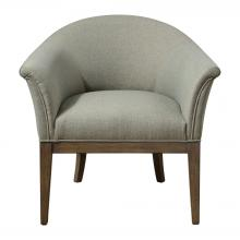 Uttermost 23427 - Uttermost Margaux Sea Mist Accent Chair