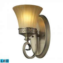 ELK Lighting 11426/1-LED - One Light Colonial Bronze Bathroom Sconce