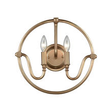 ELK Lighting 12840/2 - Stanton 2 Light Wall Sconce In Matte Gold