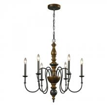 ELK Lighting 14186/6 - Chandelier