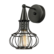 ELK Lighting 14190/1 - Yardley 1 Light Wall Sconce In Oil Rubbed Bronze
