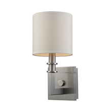 ELK Lighting 20150/1 - Seven Springs 1 Light Wall Sconce In Satin Nicke