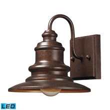 ELK Lighting 47010/1-LED - Marina 1 Light Outdoor LED Sconce In Hazelnut Br