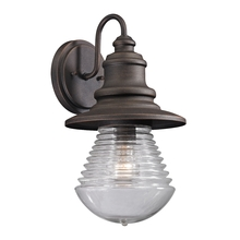 ELK Lighting 47045/1 - Westport 1 Light Outdoor Sconce In Weathered Cha