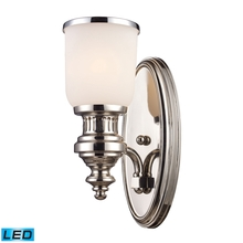 ELK Lighting 66110-1-LED - Chadwick 1 Light LED Wall Sconce In Polished Nic