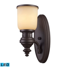 ELK Lighting 66130-1-LED - Chadwick 1 Light LED Wall Sconce In Oiled Bronze