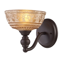 ELK Lighting 66190-1 - Norwich 1 Light Wall Sconce In Oiled Bronze And