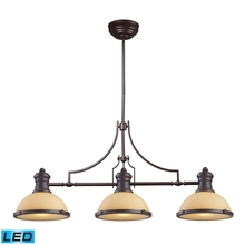 ELK Lighting 66235-3-LED - Chadwick 3 Light LED Billiard In Oiled Bronze An