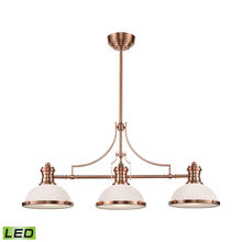 ELK Lighting 66245-3-LED - Chadwick 3 Light LED Billiard In Antique Copper