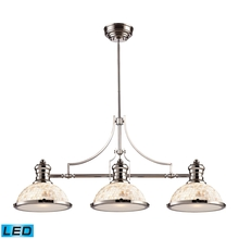 ELK Lighting 66415-3-LED - Chadwick 3 Light LED Billiard In Polished Nickel