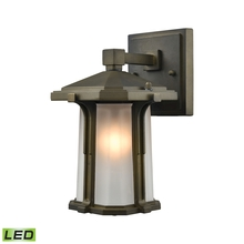 ELK Lighting 87090/1-LED - Brighton 1 Light LED Outdoor Wall Sconce In Smok