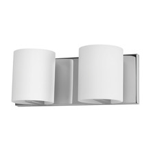 ELK Lighting BV862-10-15 - Enterprise 2 Light Vanity In Chrome And White Op